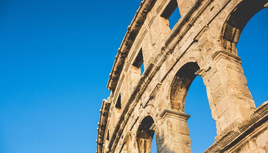 Part of Pula Roman Arena