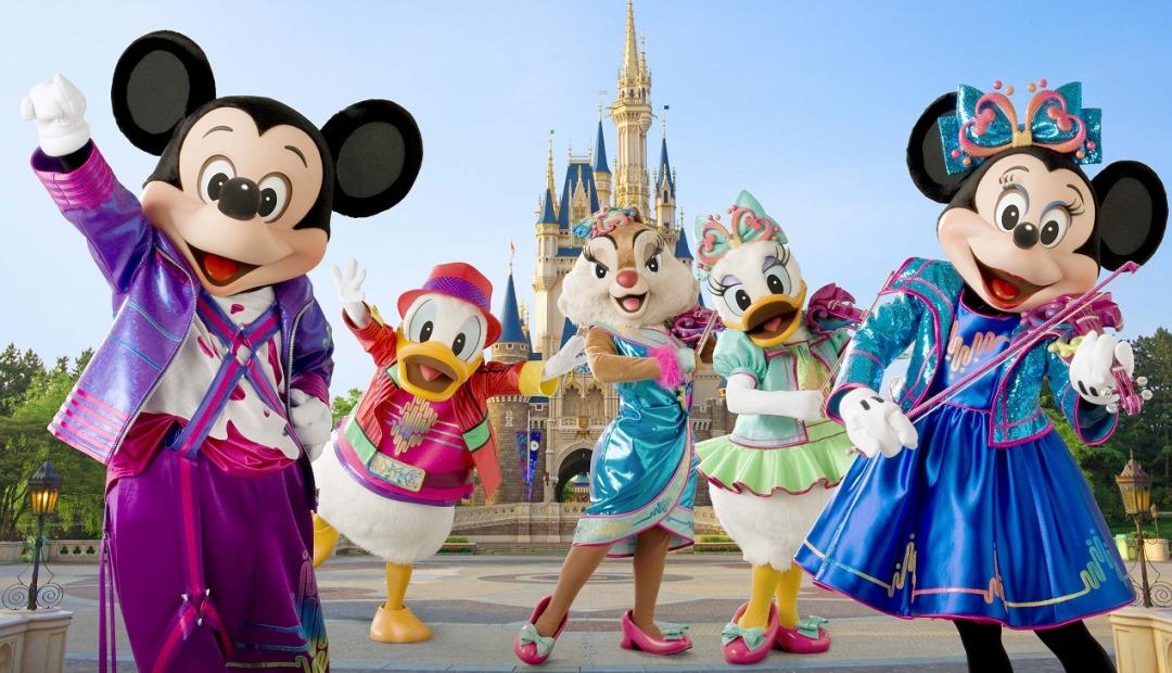 Bärte sind in Disneyland noch erlaubt